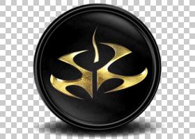 轮符号字体,杀手血钱9,黑色和金色徽标PNG剪贴画游戏,徽标,视频游