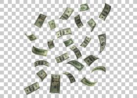 钱飞现金美元,下跌的钱,美元钞票很多PNG剪贴画图像文件格式,标签