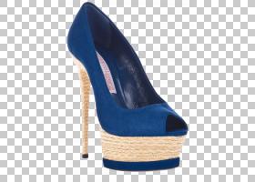 高跟鞋跟鞋设计师,钱马可以Lorenz蓝色高跟鞋鱼头PNG剪贴画蓝色,