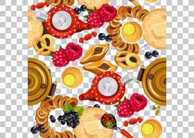 俄罗斯早餐食品,俄罗斯食品PNG剪贴画食品,烘焙,早餐,食谱,日本食