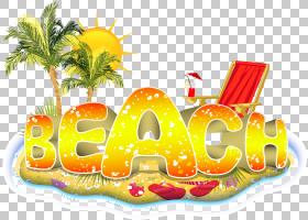 海滩夏天,海滩度假PNG剪贴画海滩,食品,生日快乐矢量图像,黄金,夏