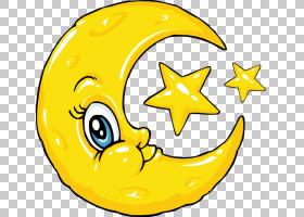 满月,月亮PNG剪贴画食物,笑脸,桌面壁纸,图释,月亮,明星,自然,自