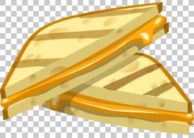 火腿和奶酪三明治吐司奶酪和番茄三明治烤奶酪,三明治PNG剪贴画角