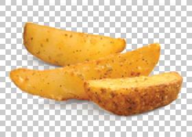 炸薯条土豆楔烤土豆垃圾食品,土豆PNG剪贴画食品,烹饪,蔬菜,蘸酱,