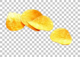 炸薯条土豆片素食美食小吃,美味薯片股票PNG剪贴画食品,橙色,吃,