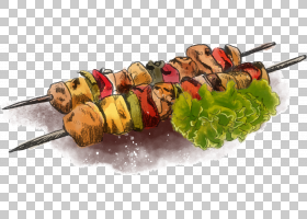 烧烤烤肉串,烧烤PNG剪贴画食品,生日快乐矢量图像,烧烤炉,烧烤酱,