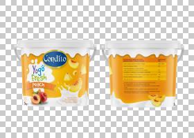 包装和标签酸奶瓶,橙色酸奶包装PNG剪贴画食品,标签,早餐,橙色背