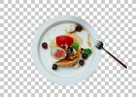 华夫饼早餐菜甜点,华夫饼早餐PNG剪贴画食品,食谱,盘子,蓝莓,封装