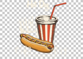 热狗汉堡可口可乐快餐,可乐热狗包PNG剪贴画食品,三明治,狗,包矢