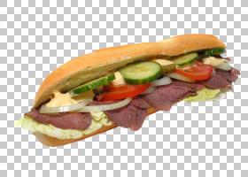 热狗牛排三明治烤牛肉三明治帕尼尼,热狗三明治面包PNG剪贴画食品