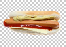 热狗香肠多味腊肠辣椒狗快餐,热狗PNG剪贴画食品,芝士汉堡,美国食