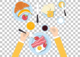 甜甜圈全套早餐煎蛋,健康早餐计划查看材料PNG剪贴画食品,早餐,奶图片