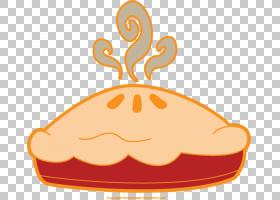 大黄饼苹果派,Pie Throwing的PNG剪贴画食品,烘焙,橙色,馅饼,蛋糕