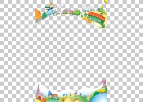 动画片Adobe以图例解释者,动画片童话幻想框架,在小山艺术品PNG c