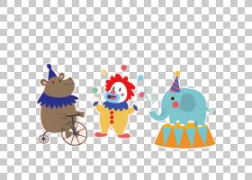 马戏团,马戏团动物PNG剪贴画杂项,食品,性能,动物,封装PostScript