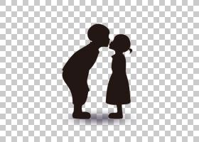 情人节海报宣传促销,恋人剪影PNG剪贴画爱,孩子,动物,心脏,公共关图片