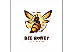 创意个性黄蜂图标LOGO设计