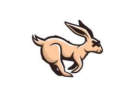 创意卡通个性兔子logo