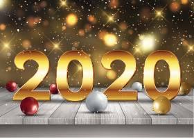 2020时尚新年素材