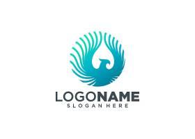 凤凰展翅形象创意LOGO设计