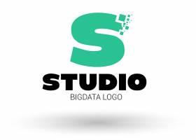 字母S形象创意LOGO设计图片