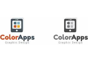 颜色APP手机软件形象创意LOGO设计