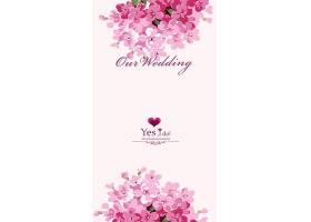 结婚季粉丝花卉背景图片