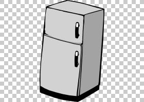 冰箱Congelador,卡通灰色冰箱PNG剪贴画卡通人物,角度,厨房,电子