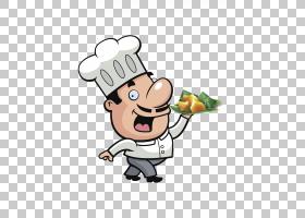 比萨厨师烹饪,龙舟卡通手绘厨师PNG剪贴画水彩绘画,卡通人物,画,