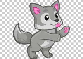 北极狼可爱狼人,可爱的狼人的PNG剪贴画哺乳动物,猫像哺乳动物,食