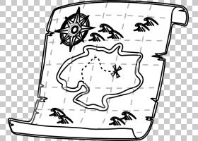 宝藏地图白色,地图PNG剪贴画哺乳动物,摄影,矩形,单色,脊椎动物,
