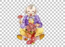 巴纳姆小丑马戏团绘画,小丑PNG剪贴画插花,食品,画,手,小丑帽子,