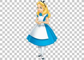 爱丽丝梦游仙境白兔爱丽丝梦游仙境礼服,爱丽丝梦游仙境PNG剪贴画
