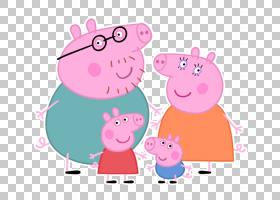 爸爸猪妈咪猪娱乐一个电视节目,PEPPA PIG PNG剪贴画哺乳动物,儿