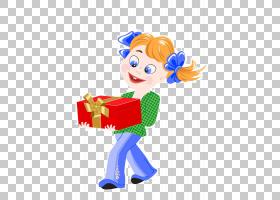版税,摄影,卡通女孩礼品盒PNG剪贴画杂项,礼品盒,虚构人物,女孩,
