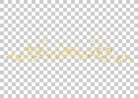 白色图案,欧洲金色框线条,黄色花卉PNG剪贴画框架,金色框架,时尚
