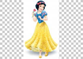 白雪公主和七个小矮人皇后长发公主奥罗拉,迪士尼公主PNG剪贴画气