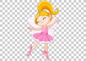 芭蕾舞演员童话,粉红色精灵PNG剪贴画摄影,小精灵,虚构人物,卡通,