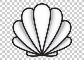 贝壳皇室 - 卡通,贝壳PNG剪贴画漫画,动物,心脏,royaltyfree,贝壳