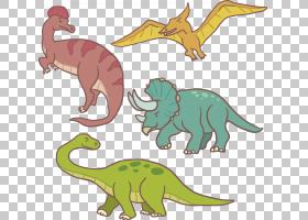霸王龙爬行动物怪物恐龙欧几里德,手绘卡通恐龙PNG剪贴画卡通人物
