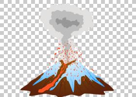 2010年Eyjafjallajxf6kull火山埃特纳火山喷发,火山喷发PNG剪贴画