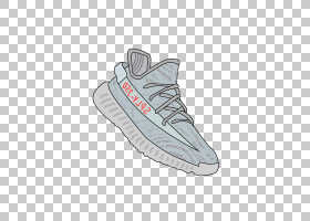 Adidas Yeezy Shoe运动鞋收集Air Jordan,卡通鞋PNG剪贴画户外鞋,