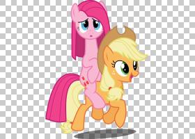 Pony Pinkie Pie Applejack Rarity Rainbow Dash,马PNG剪贴画马,