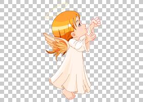 Angel Cherub,Dream Angels PNG剪贴画摄影,橙色,人类,虚构人物,
