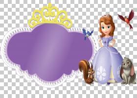 Ariel Elsa迪士尼公主,索菲亚PNG剪贴画紫色,紫罗兰色,电脑壁纸,