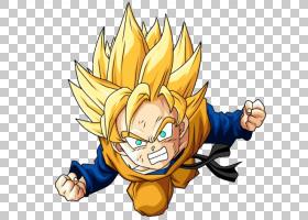 Gotenks Gohan Goku Trunks,悟空PNG剪贴画脊椎动物,电脑壁纸,虚