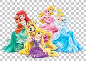 Rapunzel白雪公主Ariel迪士尼公主,迪士尼公主,迪士尼公主PNG剪贴