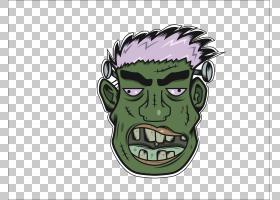 Avatar恐怖怪物,恐怖头像PNG剪贴画模板,头,虚构人物,封装的PostS