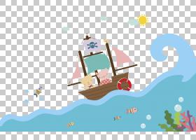 Sea Piracy Euclidean Navio pirata,海盗船游在海上PNG剪贴画白