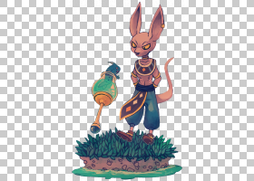 Beerus Vegeta Bulma Goku Krillin,可爱的兔子PNG剪贴画哺乳动物